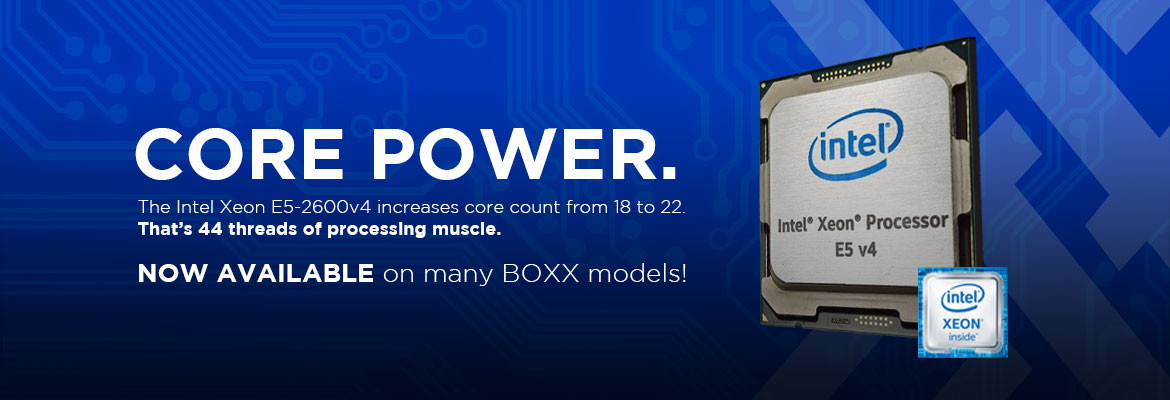 The Xeon E5-2600v4 is here!
