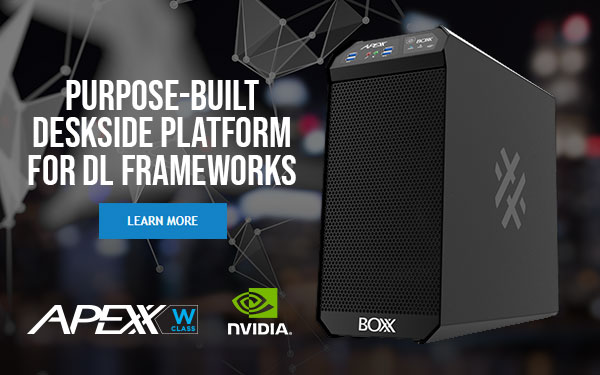Ultra-compact workstation for top deep learning frameworks