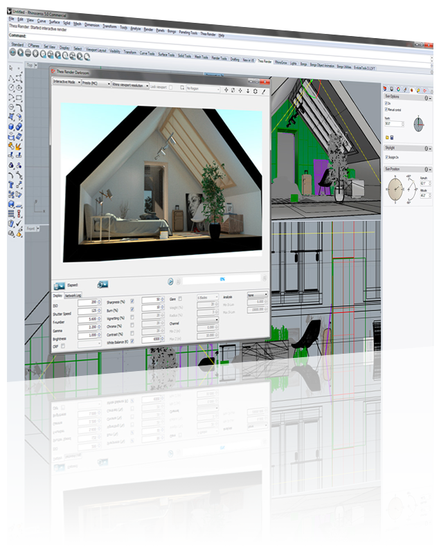 Revit Workstation Local Rendering